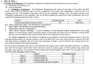 RPSC RAS 2013 Exam Procedure